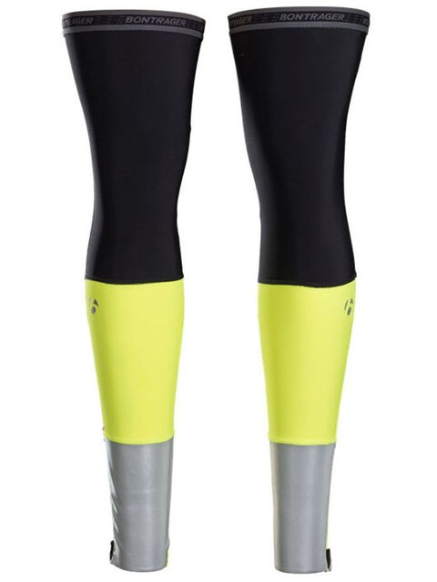 Bontrager Halo Thermal Leg Warmers Visibility Yellow